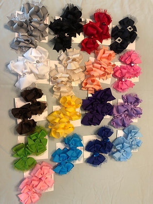 sets of solid bows