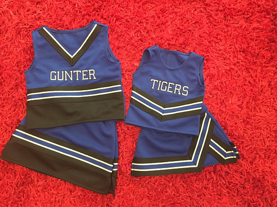 Cheer uniforms , style 1