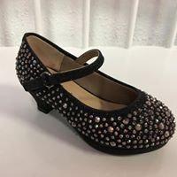 Girls Rhinestone and Glitter Heels