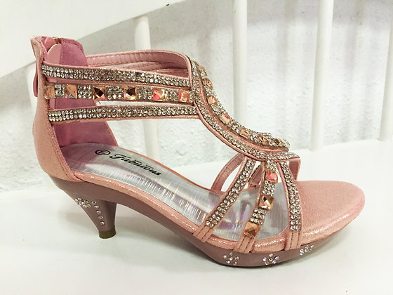 girls sparkling high heels 2,3,4