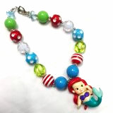 Little Mermaid Chunky Necklace