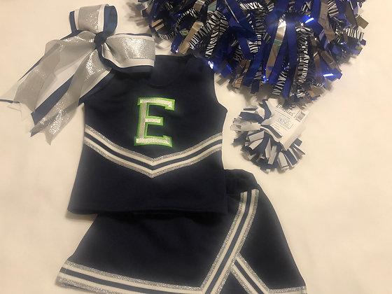 Cheer uniforms,style 1, no white panel