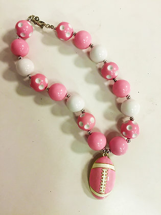 Football Chunky Necklace