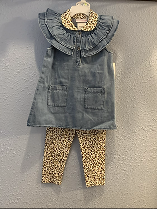 Deniem and Leopard bonnieJean 4-6x