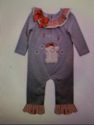 Bonnie Baby one pc snowman