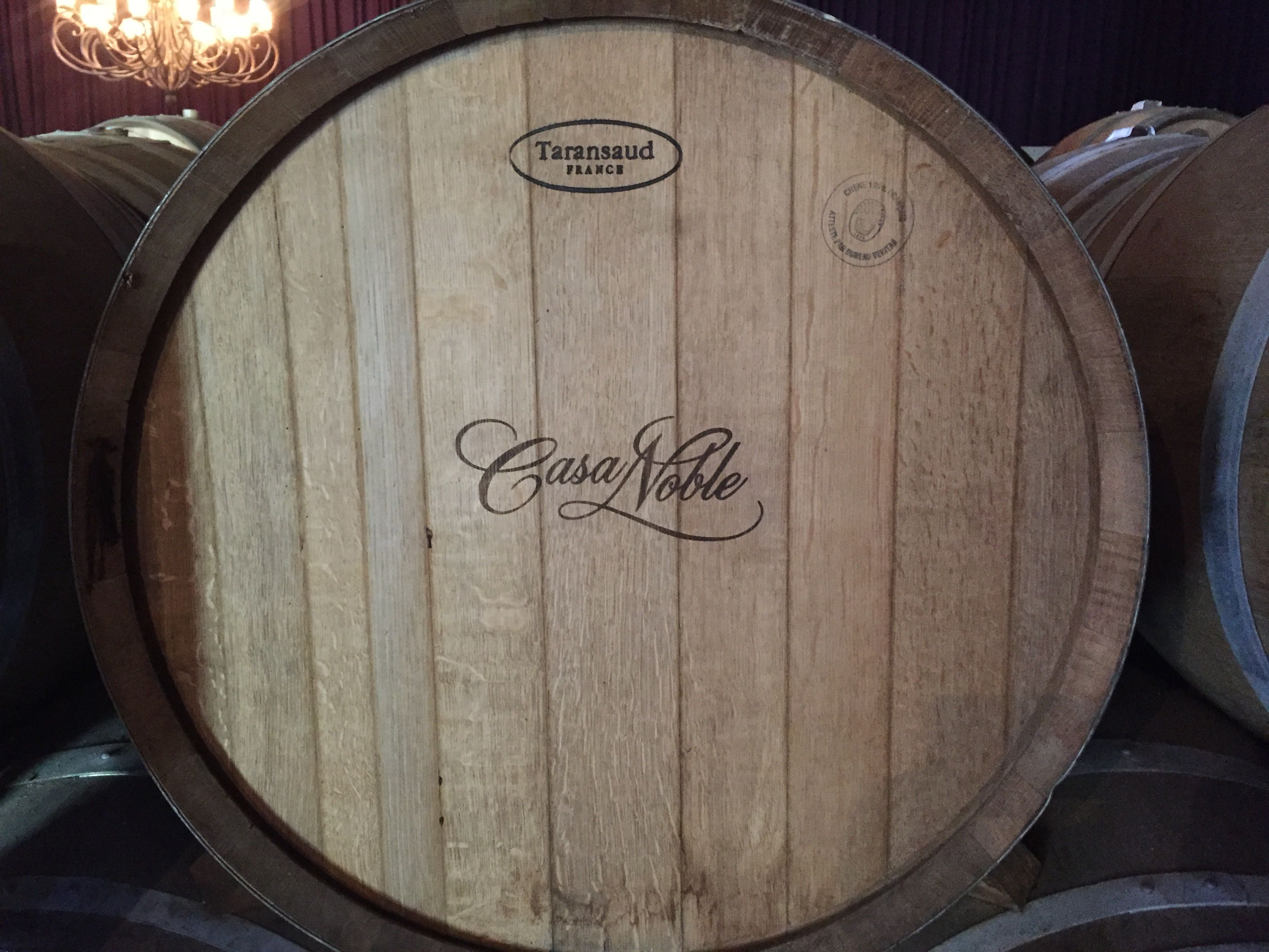 Casa Noble Barrel Logo