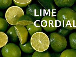 House Made Lime Cordial