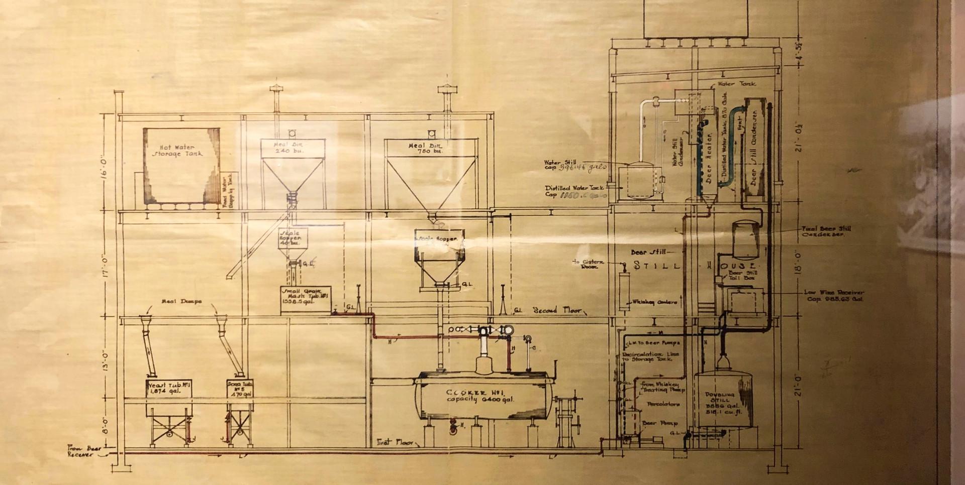 JEP Orginal Distillery Plans.jpg