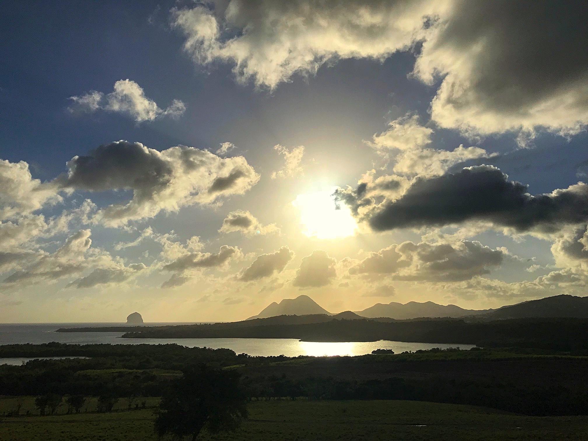 Trois Rivieres Martinique Lanscape 2