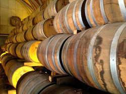 Barrels at Rhum Clement