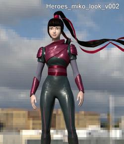 Digital Katana Girl