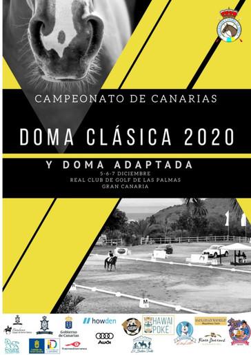 Dressage: Campeonato de Canarias