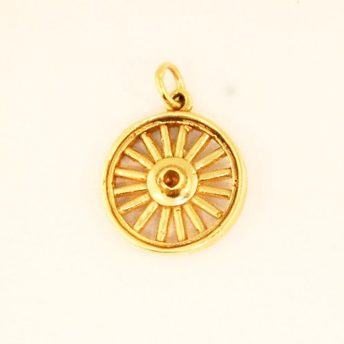 WAGON WHEEL CHARM
