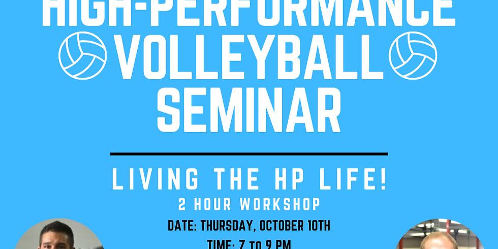 High Performance Volleyball Seminar