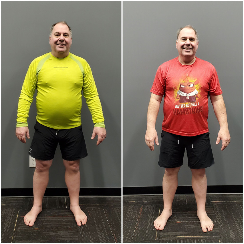 Mark Front Before and After