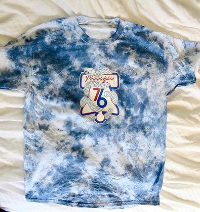 76ers Lovers tiedye tee