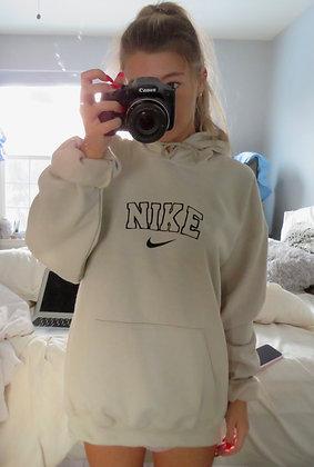 Custom Swoosh hoodie
