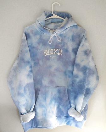 Blueberry swoosh hoodie
