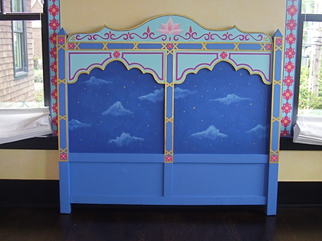 Arabian headboard