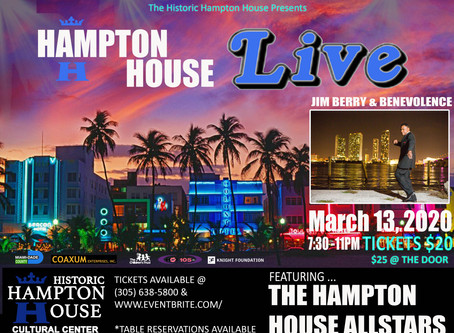 Hampton House Live🎶March 13, 2020
