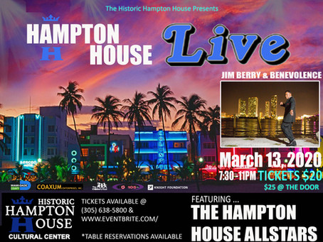 Hampton House Live🎶March 13, 2020
