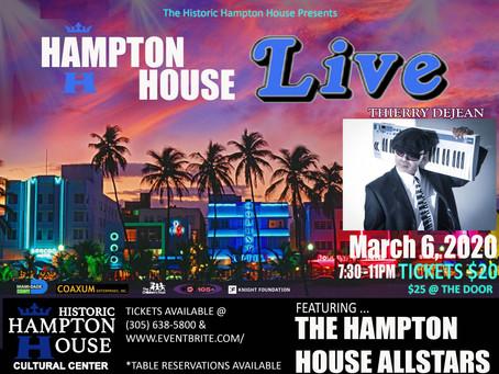 Hampton House Live 🎹March 6, 2020