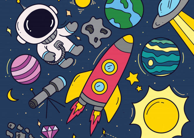 set-space-theme-cartoon-doodles_57490-22