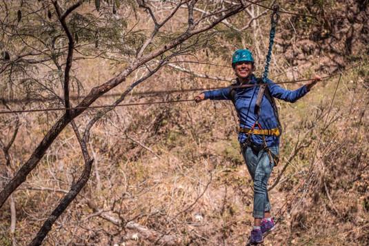 canopy tour  en nayarit puente tibetano