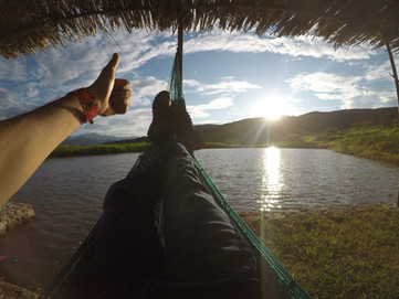 Lago en Cabañas Salto Negro Nayarit