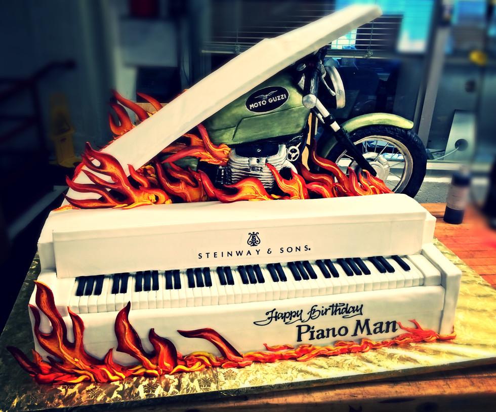 Billy Joel's Birthday Cake