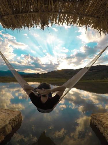 Vista del Lago en Ecohotel Salto Negro