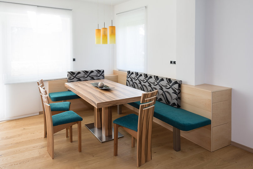 dining room modern furniture with petrol