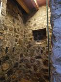 Regadera en Cabañas Salto Negro Nayarit