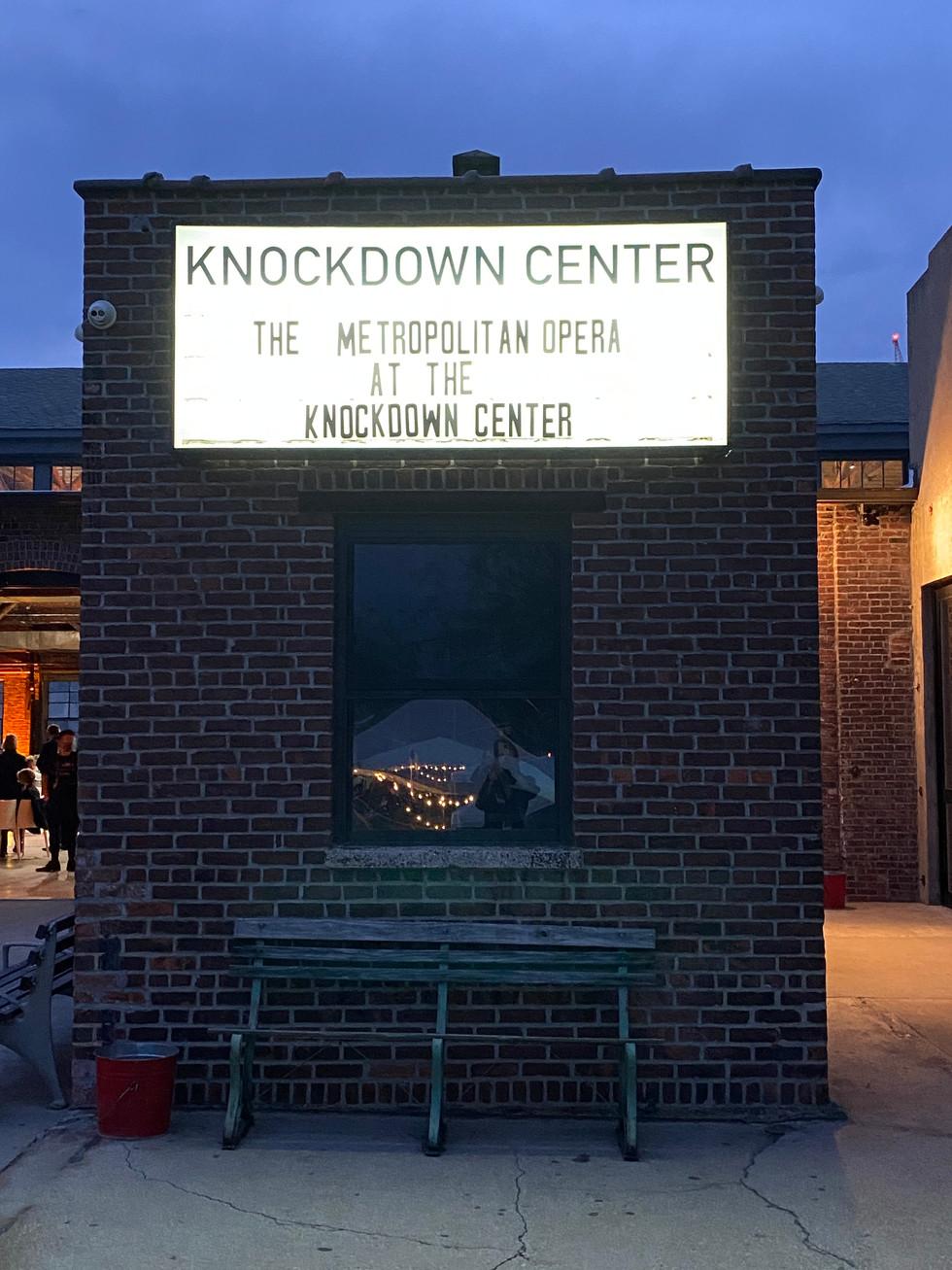 Knockdown Center