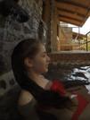 Alberca en Cabaña Gorrión Ecohotel Salto