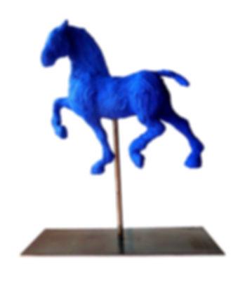 Découvrez les scuptures de cheval petits modèles bronze ou résine de Saône de Stalh