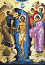 Theophany - The Baptism of Christ (Matthew 3:13-17)