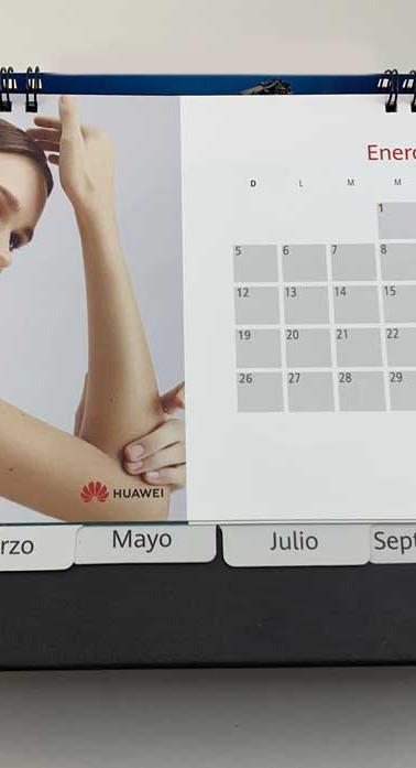 Diseño página calendario