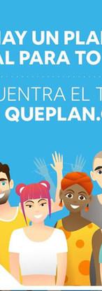 Gráfica hay un plan ideal para todos para QuePlan.cl