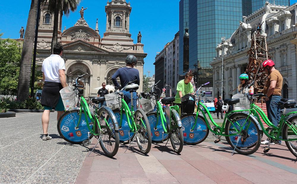 BTL, branding campaña bicicleta verde
