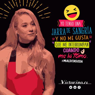 Gráfica Bar Victorino Jarra de Sangría