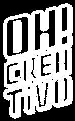 Logo en blanco de agencia de publicidad Oh Creativo