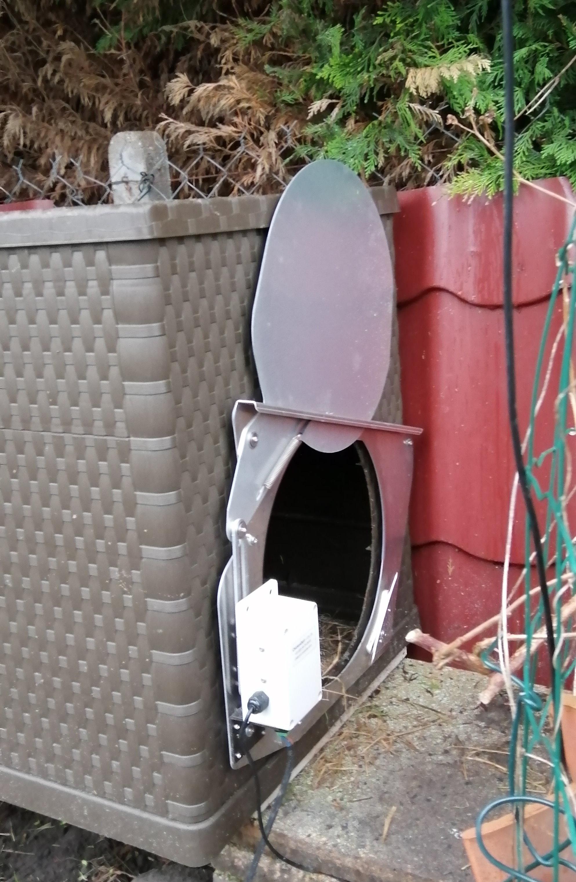 Porte poulailler automatique CKDort_105.