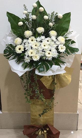 Condolence Wreath C2502