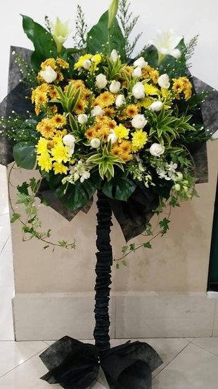 Condolence Wreath C2503