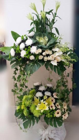Condolence Wreath C8502