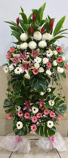 Condolence Wreath C8001