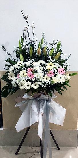 Condolence Wreath C5002
