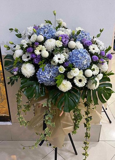 Condolence Wreath C6501