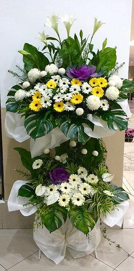 Condolence Wreath C8002